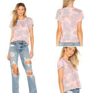 NWT Wildfox Tropical Camo Print T-Shirt L